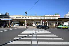各線・新小岩駅の様子。(2018-01-12,共用部,ENVIRONMENT,1F)