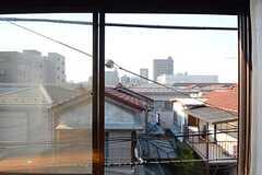 窓からの眺め。(301号室)(2015-04-27,専有部,ROOM,3F)