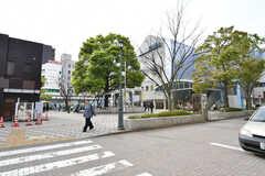 東京メトロ東西線・西葛西駅の様子。(2017-04-18,共用部,ENVIRONMENT,1F)