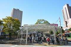 都営新宿線・船堀駅の様子。(2015-09-18,共用部,ENVIRONMENT,1F)