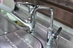 浄水も出ます。(2013-09-03,共用部,KITCHEN,1F)