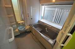 バスルームの様子。ジェットバス付きです。(2013-09-03,共用部,BATH,1F)