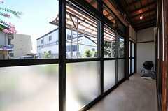 専有部の様子。専用の廊下付きです。(103号室)(2013-09-03,専有部,ROOM,1F)
