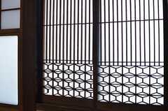 障子の細工が素敵。(103号室)(2013-09-03,専有部,ROOM,1F)