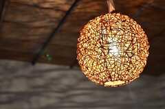 照明の様子。(205号室)(2013-09-03,専有部,ROOM,2F)
