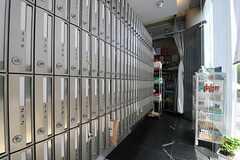 郵便ポストの様子。(2011-08-26,共用部,OTHER,1F)