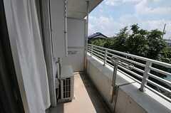全室ベランダ付きです。(304号室)(2011-08-26,専有部,ROOM,3F)