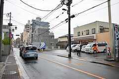 シェアハウスから京王線・東府中駅へ向かう道の様子。(2014-06-11,共用部,ENVIRONMENT,1F)