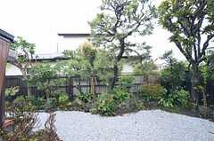 庭の様子。(2015-04-08,共用部,OTHER,1F)