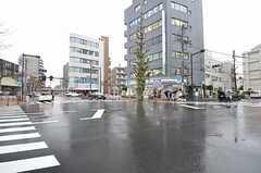 京王線・東府中駅前の様子。(2015-04-08,共用部,ENVIRONMENT,1F)