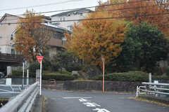 JR横浜線・片倉駅周辺の様子。(2017-11-30,共用部,ENVIRONMENT,1F)