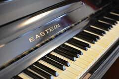EASTEINのアップライトピアノが置かれています。(2015-04-03,共用部,OTHER,2F)