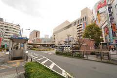 各線・八王子駅前の様子。(2015-04-03,共用部,ENVIRONMENT,1F)