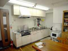 キッチンの様子。(2007-04-21,共用部,KITCHEN,2F)