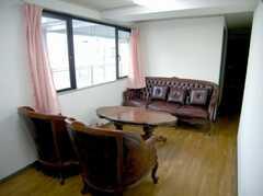 廊下にはセカンド・ラウンジが。(2007-04-21,共用部,LIVINGROOM,2F)