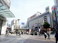 各線八王子駅の様子。駅ビルはそごうデパート。(2007-04-21,共用部,ENVIRONMENT,1F)