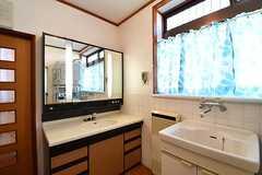 洗面台が2台設置されています。(2017-02-14,共用部,OTHER,1F)