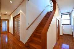 階段の様子。(2017-02-14,共用部,OTHER,1F)