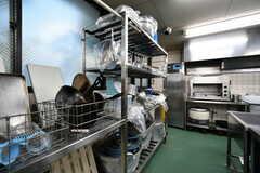 キッチンツールは自由に使用できます。(2019-09-11,共用部,KITCHEN,1F)