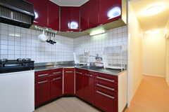 キッチンの様子。(2020-04-01,共用部,KITCHEN,3F)