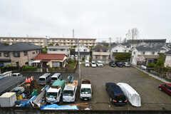 窓からの景色2。建物がないので抜けが良いです。(207号室)(2020-04-01,専有部,ROOM,2F)