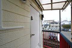 玄関ドアの様子。(2020-04-01,周辺環境,ENTRANCE,1F)