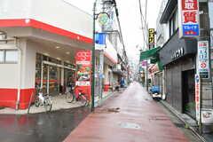 西武池袋線・ひばりヶ丘駅前の商店街の様子。(2020-04-01,共用部,ENVIRONMENT,1F)
