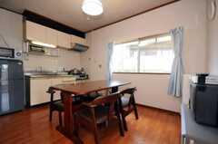 シェアハウスのラウンジの様子。(107号室)(2010-05-13,共用部,LIVINGROOM,1F)
