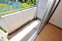 ベランダの様子。(2062号室)(2010-05-13,専有部,ROOM,2F)