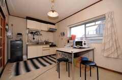 シェアハウスのラウンジの様子。(307号室)(2010-05-13,共用部,LIVINGROOM,3F)