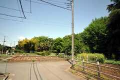 シェアハウス周辺はのどかな畑の風景が広がります。(2010-05-13,共用部,ENVIRONMENT,1F)