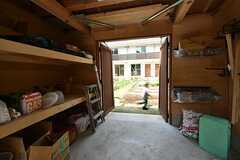 農機具やイベント道具を置ける小屋。共用で使えます。(2016-04-30,共用部,OTHER,1F)