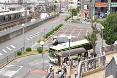 東武東上線・成増駅周辺の様子2。(2017-08-25,共用部,ENVIRONMENT,1F)