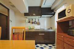 キッチンの様子。(2013-06-03,共用部,KITCHEN,8F)