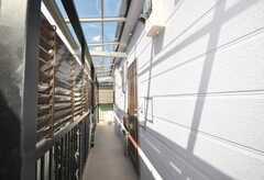 シェアハウスの正面玄関。(2009-07-16,周辺環境,ENTRANCE,1F)