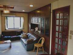シェアハウスのラウンジ3。(2008-02-19,共用部,LIVINGROOM,2F)