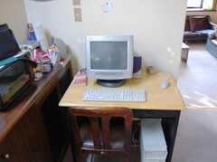 共用PCの様子。(2008-02-19,共用部,OTHER,2F)