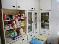 シェアハウスのキッチンの様子2。(2008-02-19,共用部,KITCHEN,2F)