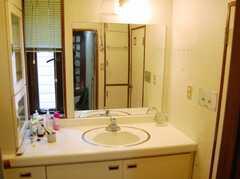 洗面台の様子。(2008-02-19,共用部,TOILET,2F)