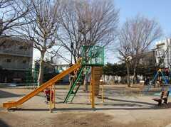 目の前の公園。(2008-02-19,共用部,ENVIRONMENT,1F)