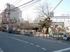 東武東上線中板橋駅の様子。(2008-02-19,共用部,ENVIRONMENT,1F)