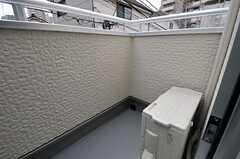 すべての専有部に鏡が設置されています。(203号室)(2012-03-07,専有部,ROOM,2F)