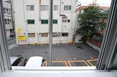 窓から見た外の景色。(204号室)(2012-07-13,専有部,ROOM,1F)