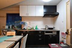 キッチンの様子。(2020-11-19,共用部,KITCHEN,1F)