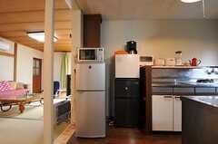 シェアハウスのキッチンの様子2。(2011-02-03,共用部,KITCHEN,1F)