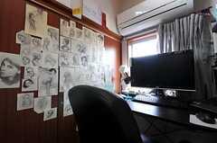 専有部の様子2。(301号室)(2011-02-03,専有部,ROOM,2F)
