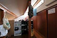 専有部の収納の様子。(301号室)(2011-02-03,専有部,ROOM,2F)