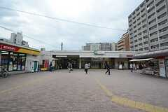 JR埼京線・板橋駅の様子。(2014-10-20,共用部,ENVIRONMENT,1F)