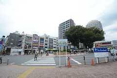 JR埼京線・板橋駅前の様子。(2014-10-20,共用部,ENVIRONMENT,1F)