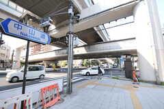 都営三田線・板橋本町駅前の様子。(2012-09-13,共用部,ENVIRONMENT,1F)